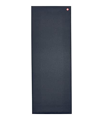 Manduka Pro Yogamatte – Premium 6 mm dicke Matte, Hochleistungsgriff, nachhaltig, Unterstützung und Stabilität bei Yoga, Pilates, Fitnessstudio, Fitness – Standard, 170 cm, Farbe Midnight