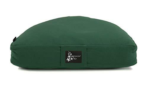 Yogistar Meditationskissen - Halbmond Green