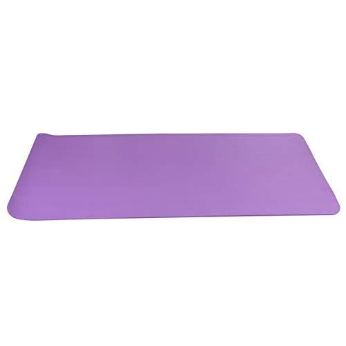 10mm dicke NBR Pure Color Anti-Rutsch Yogamatte 183x61x1cm Lila