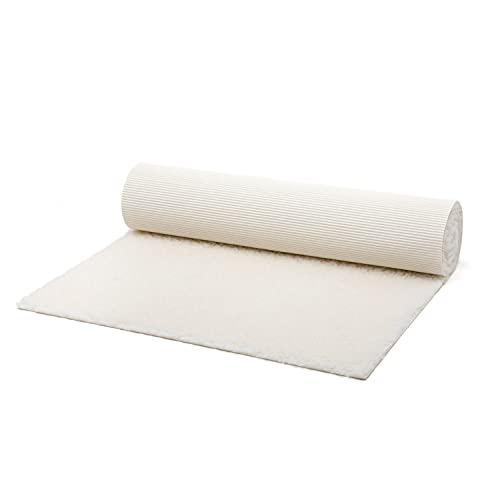 bodhi | Schurwoll-Yogamatte | Natur Wolle | Schurwollmatte | 100% Schafschurwolle (1200 g/m²)| Weich &...