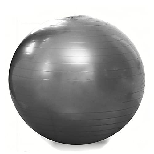 JSBAN Yoga Ball 75 cm Fitness Ball Pilates Übung Home Gym Yoga Übung Frauen Trainingsgeräte Balance Bälle (Color : 75CM Grey)