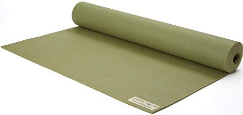 Jade Travel Yoga Mat 1/8' x 68' (3mm x 61cm x 173cm) - Olive Green