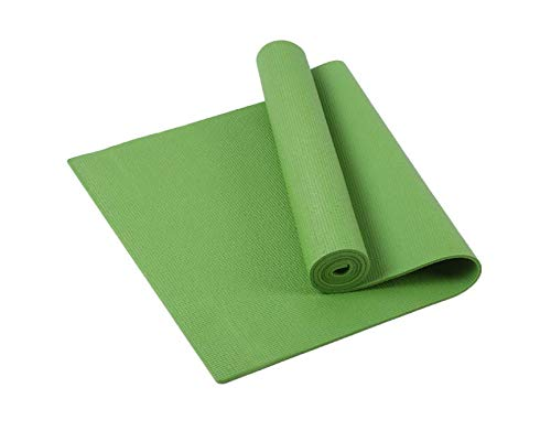 NAXIAOTIAO Yoga-Matte aus PVC-Yoga-Matte mit langem Sitzpolster und dickerer Matte Yoga-Decke Sport-Fitnessmatte,Green