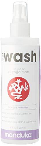 Manduka Mat Renew Spray, Lavender, 237 ml