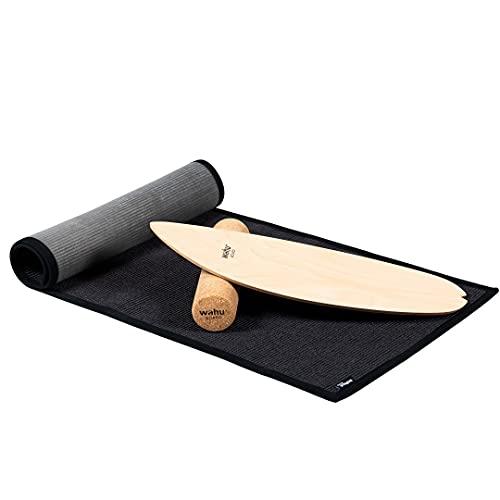 WAHU Board Matte - aus Sisal (165x60 cm) rutschfeste Matte - fair produziert - vermeidet Kratzer beim Boarden - 100% natürlich  