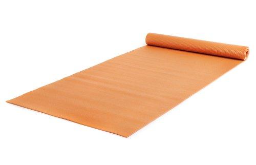 Yogistar Yogamatte Basic XXL - rutschfest und sehr gross - Mango