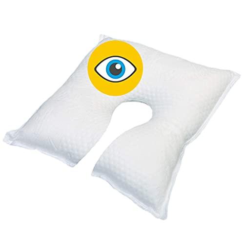 OrtoPrime Postoperatives Augenkissen, therapeutisches Kissen, orthopädisches Augenkissen, orthopädisches Kissen, hoher Schutz, Augenkissen, Qualität und Schlaf