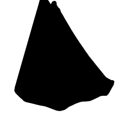 QHY Therapie-Schaukel Yoga DIY Silk Pilates Premium Aerial Silks Equipment Aerial Yoga Tuch Aerial Silk Elastische Yoga Hängematte Mit Stoff Zubehör (Color : Black, Size : 500x280cm/197x110in)