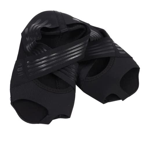 FOLOSAFENAR Indoor-Yoga-Schuhe, Bequeme elastische, leicht zu tragende Frauen-Yoga-Schuhe, rutschfest für Übungen für Frauen für den Innenbereich(35/36 Meter)