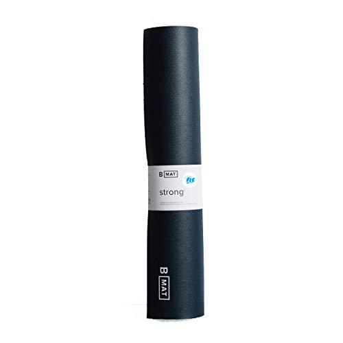 Fit for Fun Yogamatte B MAT Strong – von B Yoga, 6 mm Dicke, rutschfeste Fitnessmatte, vegane & ökologische...