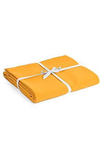 Yoga Studio Bio-Baumwolle Yogadecke (Yellow)