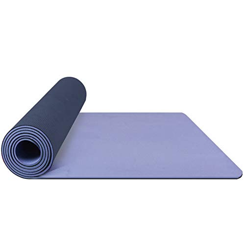Anti-Rutsch-Yoga-Matten-Trainingsmatte Turnmatte Eco Friendly Faltbare Workout-Matten for Home Fitness Gymnastikmatten for Yoga, Gymnastik, Pilates Mats mit Tasche perfekt for Frauen & Me
