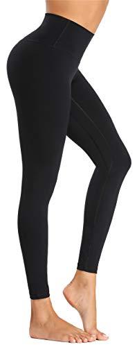 Beelu Damen Yoga Leggins Blickdicht Frauen High Waist Slim Fit Seamless Fitnesshose für Gymnastik Lange...