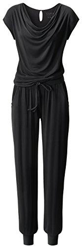 CURARE Yogawear Jumpsuit Black (l)