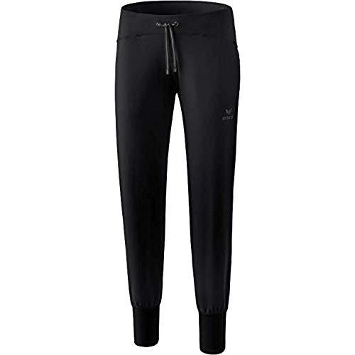 ERIMA Damen Hose Yogahose, schwarz, 44, 2101801