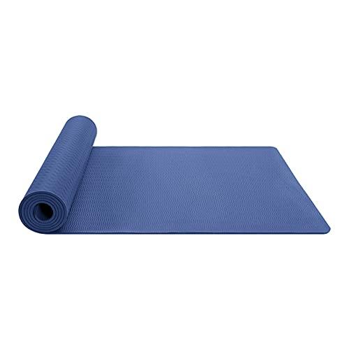 Amazingdays 6mm Yogamatte Rutschfest Trainingsmatte Fitnessmatte Sportmatte Einfarbig Damen Pilatesmatte Für Yoga Pilates Fitness Gymnastik 1pc