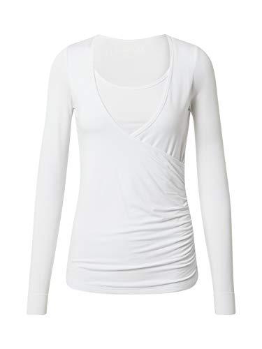 CURARE Yogawear Damen Funktionsshirt weiß XL