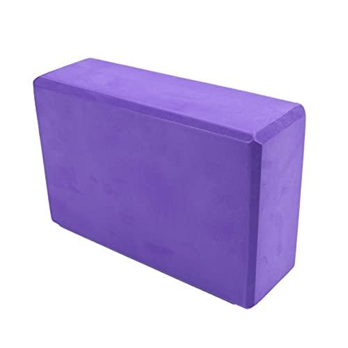Kaneno Yoga Blocks Leichte High Density Foam 9x6x3inches für Anfänger und alle Yogis Unterstützt alle Posen Flexibilität und Haltung Weiche rutschfeste Schaumoberfläche für Yoga, Pilates,Meditation