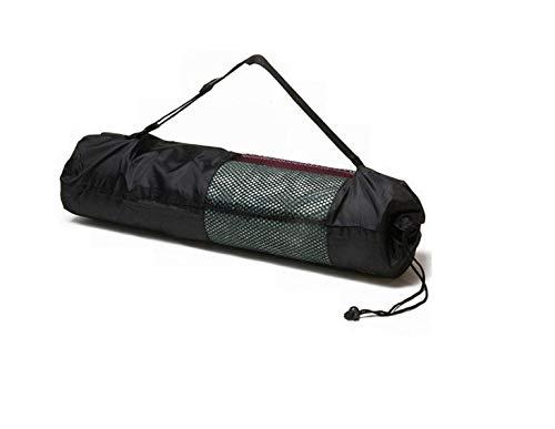 Ducomi Yogatasche mit verstellbarem Schultergurt, wasserdicht, für Fitness- und Pilates-Teppich, funktionelle Tasche für Yogamatte, Geschenk für Damen (90 x 30 cm)