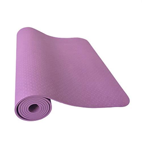 XIAMIMI Premium Extra Large Yoga-Matte, Extra Thick & Comfortable, Ungiftig, Anti-Rutsch, Barfuß Gymnastikmatte - Yoga, Stretching, Cardio Workout Matten Für Home Gym Flooring,E