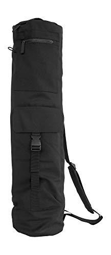 SHANTI NATION - Mat Bag XL - Yogatasche für Yogamatten - ideale Tasche für Shanti Mat Pro XL - auch geeignet für Matten mit 68 cm Breite - praktisch und komfortabel - bequemes Schulterpolster - Black
