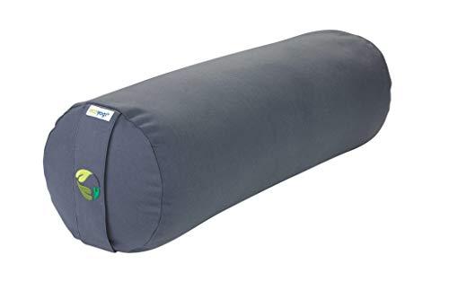 Ecoyogi Bolster – Yoga- & Pilates-Kissen viele Farben – aus Zertifizierter Bio-Baumwolle – kompakter...