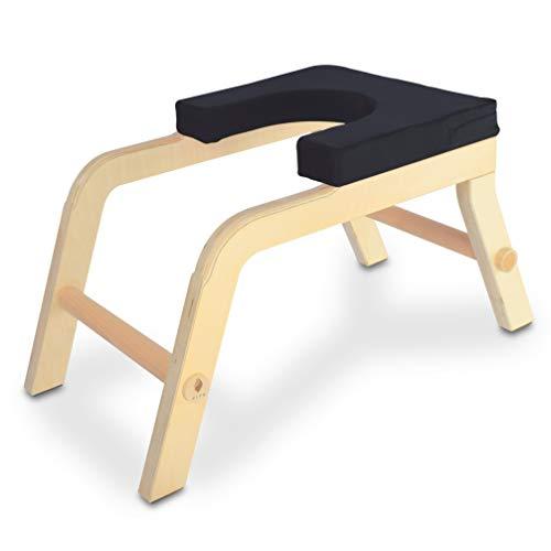 SIYA® Yoga Kopfstandhocker aus Holz - Green Product Award - Ergonomisch, Komfortabel und Nachhaltig -...