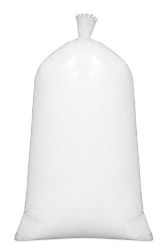 ZOLLNER Füllmaterial, 100% silikonisierte Polyesterhohlfasern, 1kg, weiß