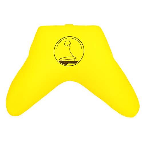 KlarGeist Die bequemste Art zu meditieren Komfort - Meditationskissen, Yogakissen und Zafu (Strahlendes gelb)