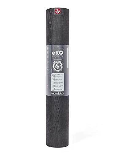 Manduka 35394 Yogamatte eKO 5 mm Charcoal 200cm