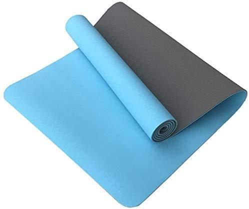 Busirsiz Yoga-Matten 6mm verdicken Anfänger Rutschhemmende Umweltschutz Fitness-Matte Pilates und Bodenmatten