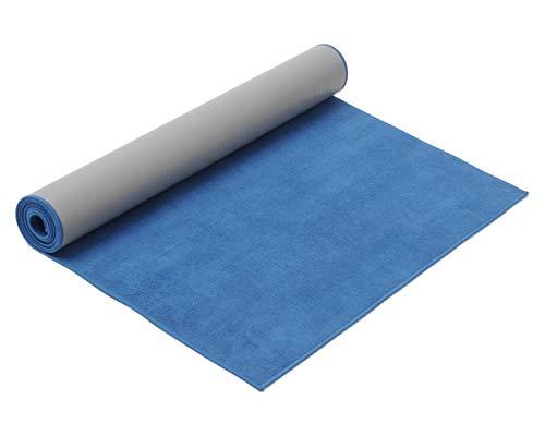 Yogistar hot yoga Yogamatte, blue, One Size