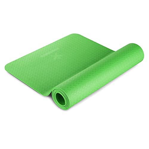 BODYMATE Yogamatte Premium TPE rutschfeste Fitnessmatte, Sportmatte Gymnastikmatte Matte für Fitness, Yoga,...