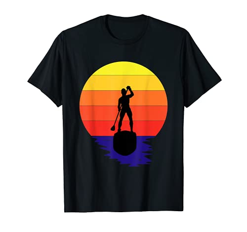 Herren SUP Stand Up Paddle board T-Shirt