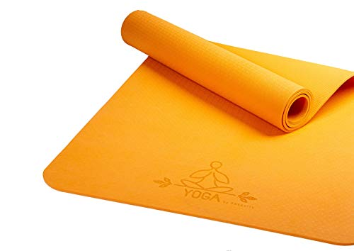 DNSports Yogamatte (orange)