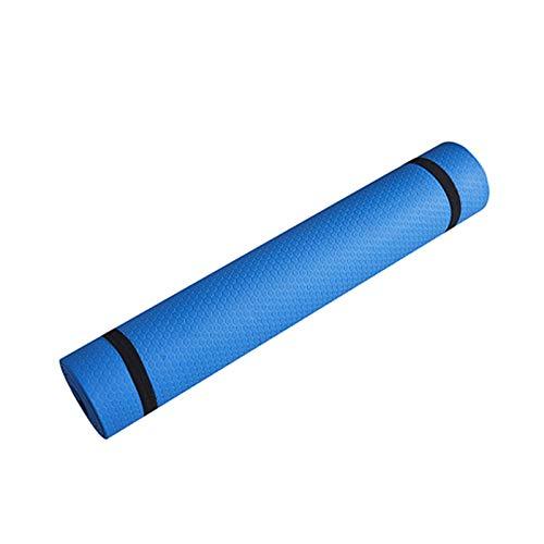 ONEVER Trainingsmatte, rutschfeste Kratzkissen, Kratzdecke, für Damen und Herren, Fitness, Training, Zuhause, Fitnessstudio, Äquiment (blau), Trainingsmatte, Sport- und Fitness-Kratzteppich,