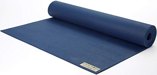 Jade Travel Yoga Mat 1/8' x 68' (3mm x 61cm x 173cm) - Midnight Blue