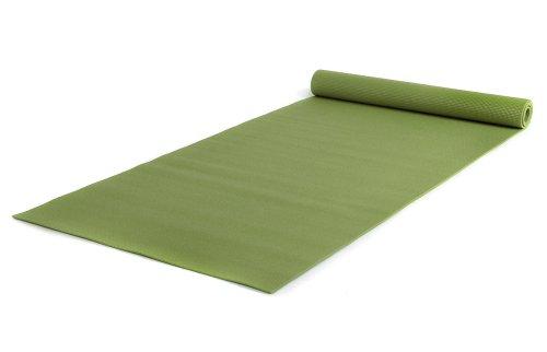 Yogistar Yogamatte Basic XXL - rutschfest und sehr gross - Kiwi