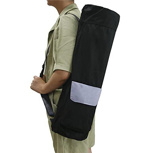 FAMKIT Damen Yogamatten-Tasche mit Reißverschluss, Schultertasche mit verstellbarem Riemen, Fronttasche