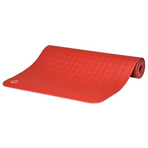 Bodhi Yogamatte ECO PRO DIAMOND | Ultra Grip | 100% Naturkautschuk | Ökologisch | Profi-Matte für Pilates &...