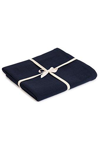 Yoga Studio Yogadecke Bio-Baumwolle, 142 x 205 cm, Meditationsdecke, GOTS Zertifiziert, kompakt, leicht zu tragen Yoga Essentials