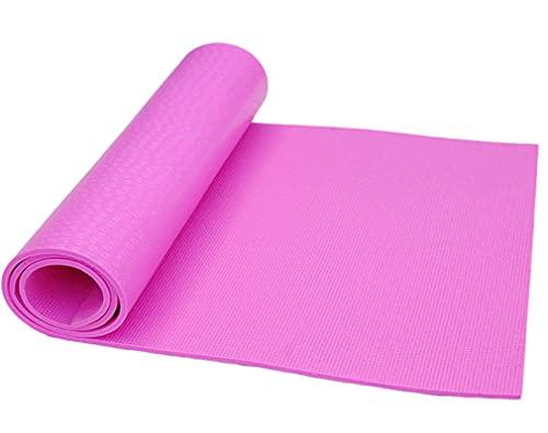 N\C rutschfeste PVC Yogamatte Meditationsmatte mit hoher Dichte, Dicke 10 mm, Größe 173CMX61CM und 183CMX61CM, weiche Textur, ausgezeichnete Elastizität, Starke Reißfestigkeit und Griffigkeit