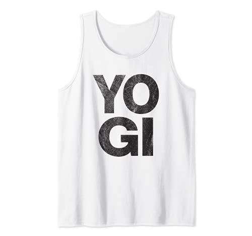 Yogi – Retro, für Yoga, Liebhaber, Workout, Fitnessstudio, Zen. Tank Top
