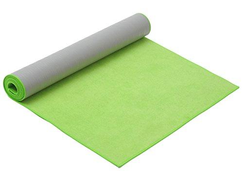 Yogistar hot yoga Yogamatte, green, One Size
