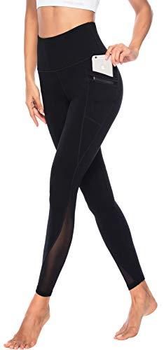 Persit Yoga Leggings Damen, Sporthose Yogahose Sport Leggins Tights für Damen, 34W / 36L (Herstellergröße...