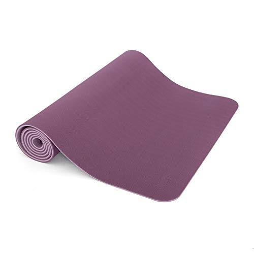 Yogamatte LOTUS PRO, auch für Gymnastik, Pilates und Fitness, weiche und rutschfeste TPE Matte,...