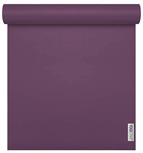 Yogistar Yogamatte Sun Travel Plum (185cm x 60cm x 1,3mm)
