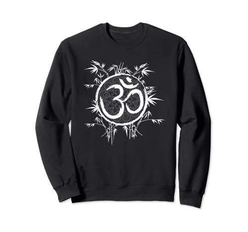 Cool Zen Yoga Buddhismus Bambus Yoga Mantra Sweatshirt