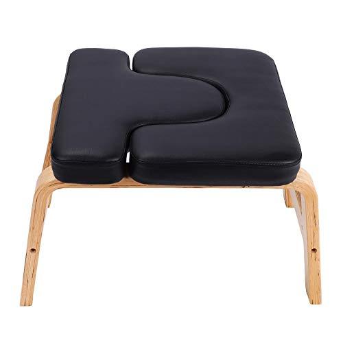 Cocoarm Yoga Kopfstandhocker Kopfstandstuhl Yoga Handstand Bench Trainingsstuhl Ergonomische Design Yoga Stuhl...