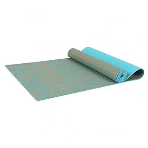 UKKD Yoga Matte Yoga Matte Jute PVC Fitness Für Gymnastik Meditation Matte Pilates Yoga Matte Teppich